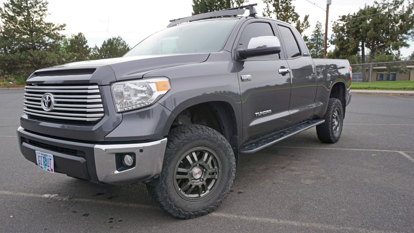 2016 Toyota Tundra Trd 4x4 Limited Icon Suspension 1 Ton Camper Ready Expedition Portal